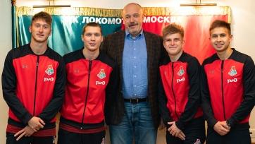 Московский «Локомотив» переподписал четырех игроков