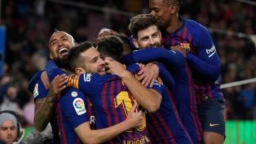 «Барселона» разгромила «Севилью» в Кубке Испании
