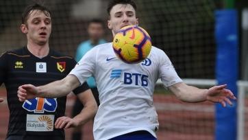 Московское «Динамо» проиграло в первом спарринге второго зимнего сбора