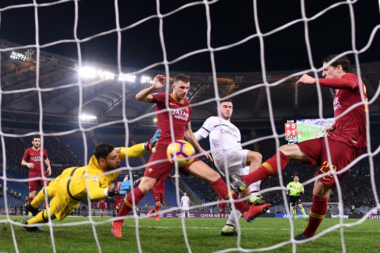 «Рома» – «Милан» – 1:1. 03.02.2019. Чемпионат Италии. Обзор и видео матча