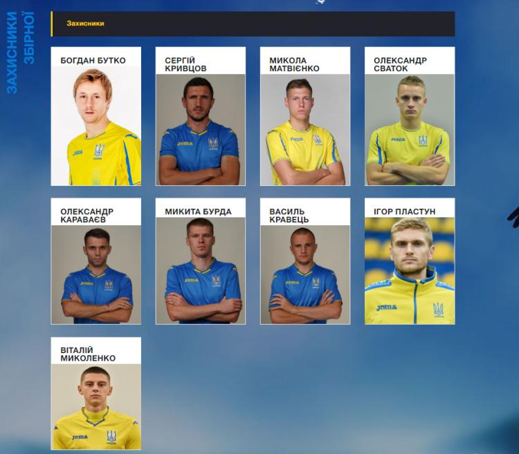 В списке не значится. Ракицкий больше не является игроком сборной Украины