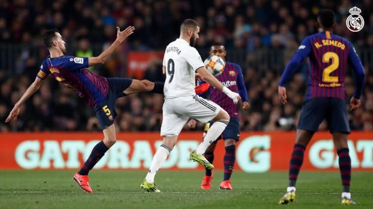 «Барселона» – «Реал» – 1:1. 06.02.2019. Кубок Испании. Обзор и видео матча