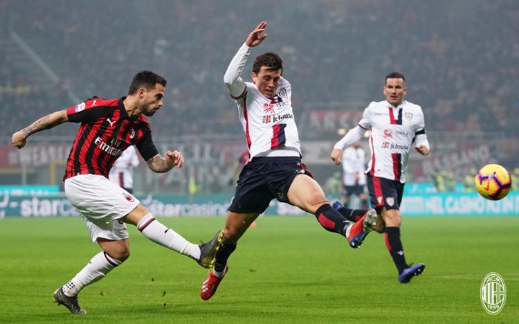 «Милан» – «Кальяри» – 3:0. 10.02.2019. Чемпионат Италии. Обзор и видео матча
