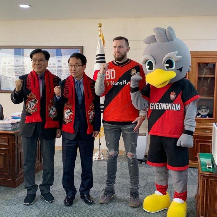 Бывший полузащитник «Кристал Пэлас» перебрался в Южную Корею
