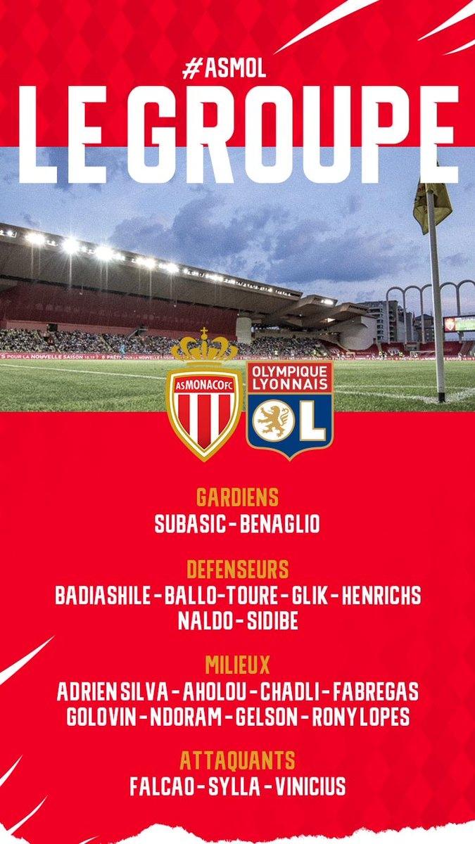 Головин попал в заявку «Монако» на матч с «Лионом»