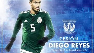 «Леганес» усилился защитником сборной Мексики