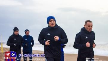«Акжайык» проиграл болгарам в товарищеском матче