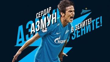 «Зенит» объявил о покупке Азмуна