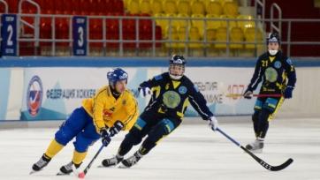 Хоккей с мячом. Казахстан нещадно бит Швецией в полуфинале чемпионата мира