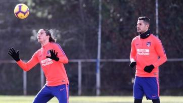 Сразу два игрока «Атлетико» вернулись в строй