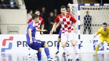 Футзал. Казахстан и Хорватия сыграли вничью
