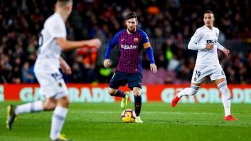 «Барселона» на «Камп Ноу» не сумела обыграть «Валенсию»