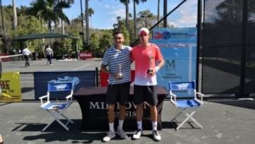 Попко выиграл турнир ITF Futures в США