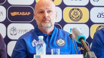 Билек дал первую пресс-конференцию после назначения главным тренером сборной Казахстана