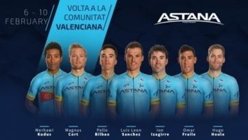 «Астана» огласила свой состав на велогонку «Вуэльта Валенсия»