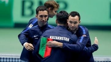 Сборная Казахстана будет во второй корзине при жеребьевке Кубка Дэвиса