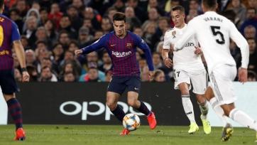 «Барселона» дома сыграла вничью с «Реалом» в полуфинале Кубка Испании