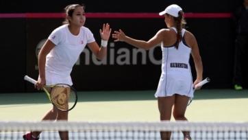 Женская сборная Казахстана по теннису одержала победу над командой Индии в Кубке Федерации