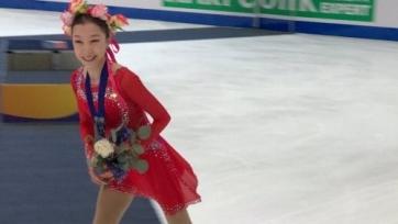 Турсынбаева стала второй на «Турнире четырех континентов» в США