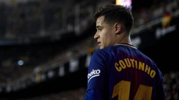 «Барселона» готова расстаться с Коутиньо