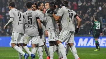 «Ювентус» разгромил «Сассуоло», Роналду забил 18-й мяч