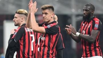 «Милан» дома всухую разгромил «Кальяри»