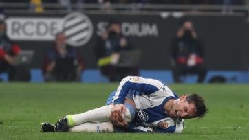Полузащитник «Эспаньола» выбыл до конца сезона