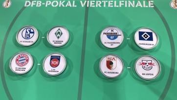 Состоялась жеребьевка 1/4 финала Кубка Германии: «Бавария», «Шальке» и «Лейпциг» узнали соперников