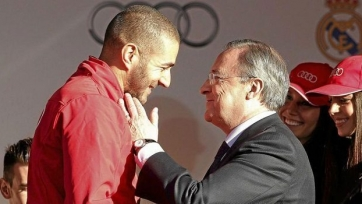 Перес: «Реалу» не нужна новая «девятка», Бензема - лучший центрфорвард»