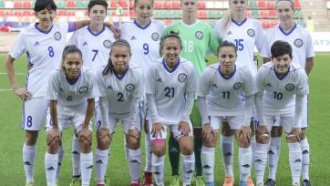 Женская сборная Казахстана по футболу сыграет на турнире в Турции