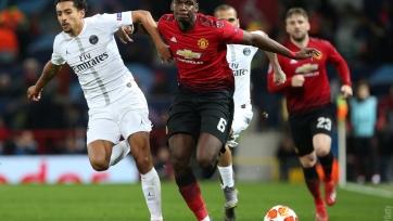 «Манчестер Юнайтед» дома «всухую» уступил «ПСЖ»