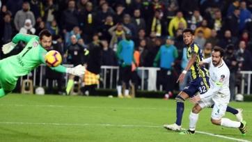 «Фенербахче» сыграл вничью в чемпионате Турции