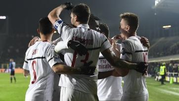 «Милан» в гостях обыграл «Аталанту»