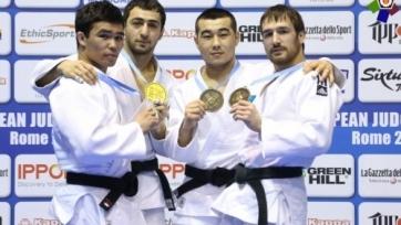 Казахстанские дзюдоисты завоевали две медали на Кубке Европы