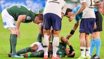 Полузащитник «Сент-Этьена» получил серьезную травму в концовке матча с «ПСЖ»