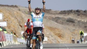 Казахстанец Луценко возглавил общий зачет велогонки «Тур Омана»