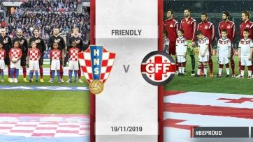 Хорватия выбрала спарринг-партнера на ноябрь