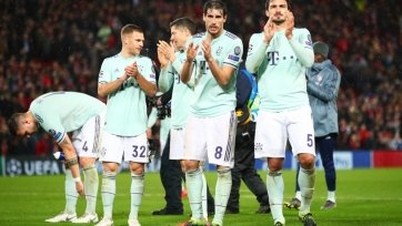 «Бавария» не знает поражений уже в девяти гостевых матчах Лиги чемпионов