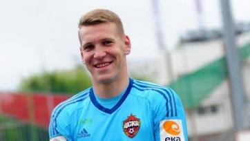 ЦСКА отдал молодого голкипера «Енисею»