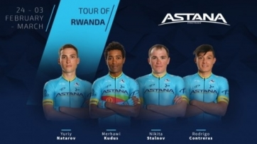 Велоспорт. «Астана» объявила состав на «Тур Руанды»
