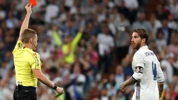Рамос, Будебуз и еще пять футболистов пропустят матчи 25-го тура Примеры из-за карточек
