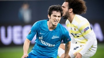 «Зенит» сломил сопротивление «Фенербахче» и прошел в 1/8 финала Лиги Европы