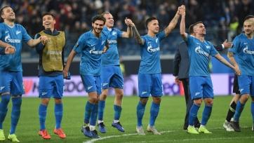 «Зенит» в седьмой раз сыграет в 1/8-й Лиги Европы