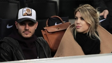 Икарди был на трибунах во время матча «Интер» - «Рапид», но раздевалку не посетил