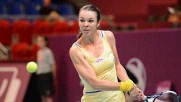 Воскобоева в полуфинале парного разряда турнира в Будапеште