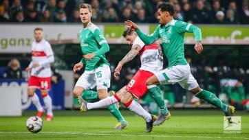 «Вердер» и «Штутгарт» не выявили победителя, Бремен продолжает забивать во всех матчах сезона