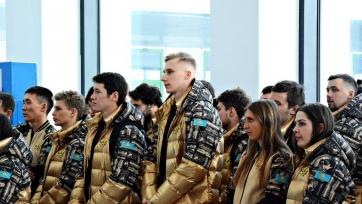 Казахстанцы отправились на Зимнюю Универсиаду