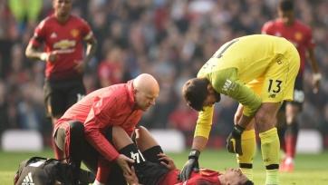 «Манчестер Юнайтед» в первом тайме матча с «Ливерпулем» сделал три вынужденные замены