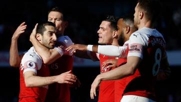 «Арсенал» разобрался с «Саутгемптоном»