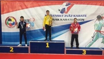Казахстанский каратист выиграл «серебро» на турнире в Словакии